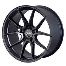 "19"" Miro F25 Wheels For BMW E46 325i 330i 19x8.5 / 19x9.5 Form Forged Black Rims"