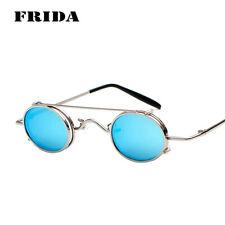 FRIDA Men Women Punk Sunglasses Removable Dual-use Lightweight Sun Glasses UV400