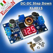 Convertitore DC-DC Step Down 1,2V-36V 5A XL4015 Regolabile +Voltmetro no LM2596s
