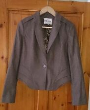 Reiss Button Coats & Jackets Business Blazer for Women