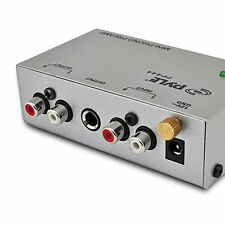 Ultra Compact Phono Turntable Preamp Line Level Stereo Preamplifier PYLE-PR