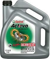 CASTROL OIL ACTEVO 4T 20W50 GAL 15A8DA