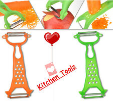 New Vegetable Slicer Cutter Peeler Potato Apple Fruit Kitchen Utility Tool