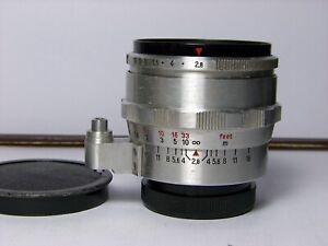 Exa Exakta Carl Zeiss Flektogon 35mm f2,8 Silber