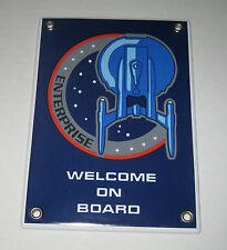 Emailschild STAR TREK ENTERPRISE NX-01 - Welcome on Board - Rarität