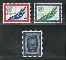 UNITED NATIONS, NEW YORK #  209-211 1970 30TH ANNIVERSARY OF THE U.N.