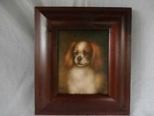 SMALL BREED CANINE DOG PORTRAIT CAVALIER KING CHARLES SPANIEL O/C MUST SEE
