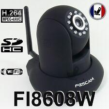Caméra IP WiFi FOSCAM FI8608W H264 SD motorisée PT IR-CUT vision nocturne réseau