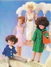 """12"""" bambole adolescente Vestiti Lavoro a Maglia Motivo. (V Bambola 25)"""