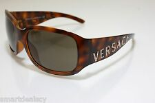 Versace Mod. 4131B 461/73 Brown Havana with precious stones Authentic Boxed NEW