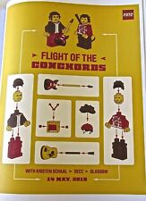 Flight of the Conchords Concert Poster Reprint  for 2010  Glasgow Scotland 14x10