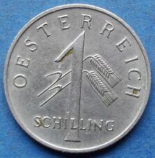 AUSTRIA - 1 schilling 1934 KM# 2851 Republic pre-WWII - Edelweiss Coins