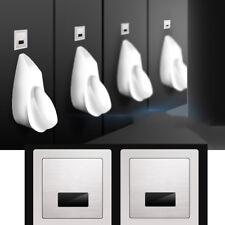 Wall Mount Lavatory Automatic Sense Urinal Flush Valve Chrome Bath Toilet Faucet