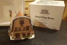 "Dept. 56 Alpine Village Series 1992 ""Metterniche Wurst"" Pre-Owned Nice"