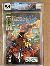 Spectacular Spider-Man #177 CGC 9.4 White Pages!! Part 2 of Carona!
