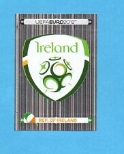 PANINI-EURO 2012-Figurina n.340- SCUDETTO/BADGE - IRLANDA -NEW