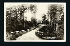 Itasca State Park Minnesota MN c1910 RPPC Narrow Old Dirt Road w/Wooden Rails