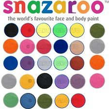 18ml SNAZAROO FACE & BODY COLOUR PAINTS HALLOWEEN MAKE UP FANCY DRESS 1st Class
