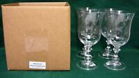 Mikasa FRENCH COUNTRYSIDE Ice Tea Glasses SET of FOUR Mint in Box More Available