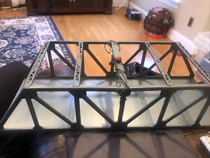 S SCALE AMERICAN FLYER #754 ?? DOUBLE TRESTLE BRIDGE Tin Pre War ?? Nice !!
