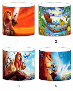 The Lion King Lampshade Ideal To Match Bedding Duvets Curtains Cushion Covers