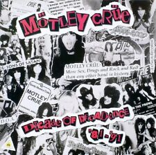 Motley Crue Decade Of Decadence '81-'91 Double European 1991 Lp