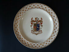 19th C. Wedgwood Armorial Creamware Plate - LaTour impaling Young