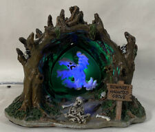 Lemax Spooky Town Table Accent ~ HAUNTED GROVE ~  Animated & Illuminated NO BOX