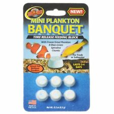 LM Zoo Med Plankton Banquet Fish Feeding Block Mini - 6 Pack