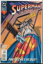 DC Comics, Superman, The Man of Steel, #44, May 1995 - Very Fine (VF)