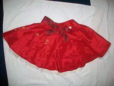 Disney Tienda minnie mouse Rojas Estampado Party Faldas Size 8
