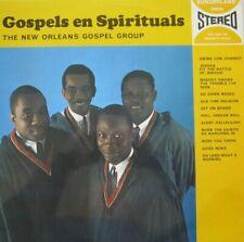 THE NEW ORLEANS GOSPEL GROUP - GOSPELS EN SPIRITUALS   - LP