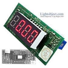 Miniature Red Led Dc 200V Digital Volt V Meter Module