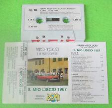 MC IVANO NICOLUCCI E LA VERA ROMAGNA Il mio LISCIO 1987 no cd lp dvd vhs