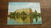 OLD POSTCARD OF HOLLAND NETHERLANDS, VIEW OF AMSTERDAM, THE AMSTEL HOTEL c1960s