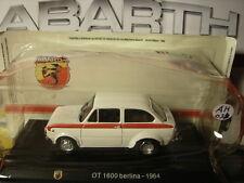 1/43 Abarth Fiat OT 1600 1964 Su Base Fiat 850 Berlina + Brochure Hachette N 3