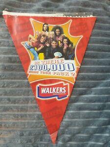 Spice Girls- Walkers Crisps Advertising Flag
