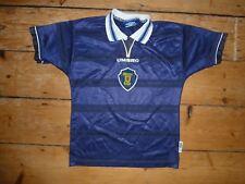 Age 10-11 Year Escocia Camiseta de Fútbol Escocés Adidas 1998 Sfa