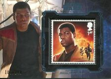 Star Wars Masterwork 2016 Royal Mail Stamp Card [249] Finn
