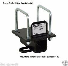 Bumper Universal Hitch Mount Travel Trailer 5th Wheel Accessories Towing RV Camp
