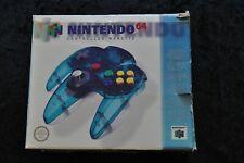 Nintendo 64 (N64) Originele Controller Clear Blue Boxed