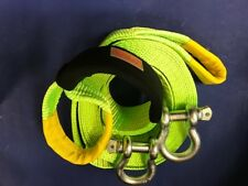 TOW STRAP WITH CASE AND SHACKLES