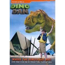Dino Dan: Where the Dinosaurs Are (DVD, 2012)