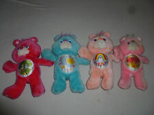 VINTAGE CARE BEAR PLUSH LOT FRIEND CHEER BEDTIME LOVEALOT 1991 ENVIRONMENTAL TOY