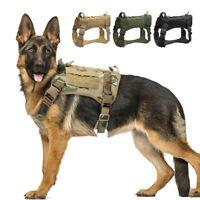 K9 Taktisches Hundegeschirr Militär Zuggeschirr Brustgeschirr Polizeihund Große