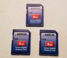 3 Pack - 8MB SD Secure Digital Memory Card - NEW