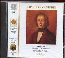 Naxos - Chopin Piano Music / Volume 10 - Idil Biret
