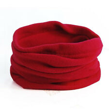 Men Women Thermal Polar Fleece Beanie Hat Snood Scarf Neck Winter Warm Balaclava