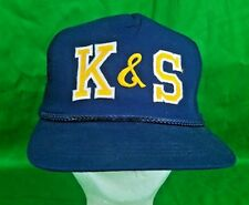 K & S Auto Hat NWOT Snapback Automotive Shop Trucker Cap