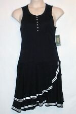 NEW w/ TAG! LRL LAUREN JEANS CO Sleeveless Dress Size Large - MSRP $120 - Navy